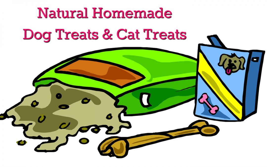 Homemade Natural Dog Treat and Cat Treat Recipes!